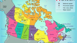 Canada Map with Provinces and Capital Cities Canada Provincial Capitals Map Canada Map Study Game Canada Map Test