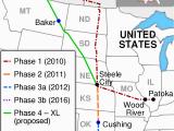 Canada Oil Pipeline Map Keystone Pipeline Wikipedia