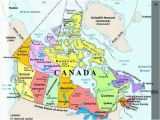 Canada Political Map with Major Cities Plan Your Trip with these 20 Maps Of Canada