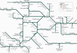 Canada Rail Network Map Great Western Train Rail Maps