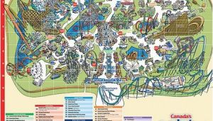 Canada S Wonderland Map the End Of A Long Day at Canada S Wonderland Picture Of Canada S