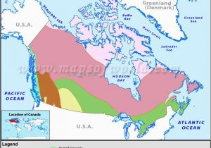 Canada Vegetation Map Canada Climate Map Body Of Knowledge Map Canada