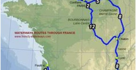 Canal Map France 9 Best Rivers In France Images In 2018 Lakes River Rivers