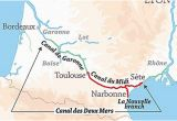 Canal Map France Canal Du Midi Wikipedia