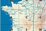 Canal Map France List Of Canals In France Revolvy