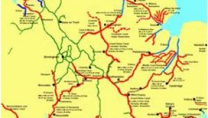 Canal Map Of England 15 Best Canal Maps Images In 2018 Canal Boat Narrowboat Canal