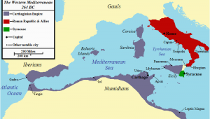 Cannae Italy Map First Punic War Wikipedia