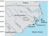 Cape Fear Map north Carolina Location Map Oyster Reserve Sites In Pamlico sound north Carolina