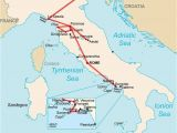Caprese Italy Map Ultimate Italy the Best Of Italy In Two Insane Weeks In Brief