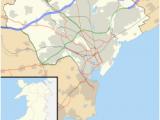 Cardiff England Map Cardiff Wikipedia