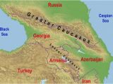 Caucasus Mountains Europe Map 80 Finicky Caucasus Mountains On Map Of asia