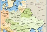 Central Europe and northern Eurasia Map 25 Categorical Map Of Eastern Europe and Capitals