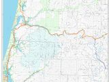 Central oregon Fires Map orww Elliott State forest Maps