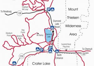 Central oregon Lakes Map Diamond Lake Map Snowmobiles Diamond Lake oregon Travel oregon