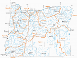 Central oregon Lakes Map List Of Rivers Of oregon Wikipedia