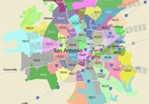 Central Texas Zip Code Map San Antonio Zip Code Map Mortgage Resources