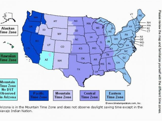 Central Time Zone Map Tennessee Us Time Zones Beautiful Places to ...