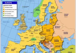Central Western Europe Map Map Of Europe Member States Of the Eu Nations Online Project