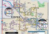 Ceres California Map Turlock Lake State Recreation area Campground Map 22600 Lake Rd La