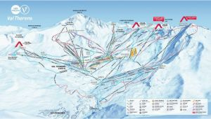 Cervinia Italy Map Val Thorens Piste Map 2019 Ski Europe Winter Ski Vacation Deals