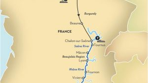 Chalon France Map Paris Rivers Ra Os Paris River Cruise Seine River Cruise France
