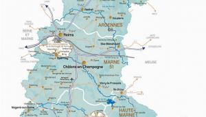 Champagne Region France Map Champagne Ardenne Road Map France Champagne Ardenne In