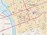 Charleston north Carolina Map Downtown Columbia south Carolina Free Online Map