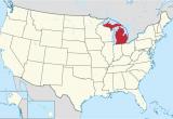 Cheboygan Michigan Map Michigan Wikipedia
