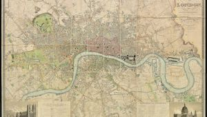 Chelsea England Map Fascinating 1830 Map Shows How Vast Swathes Of the Capital