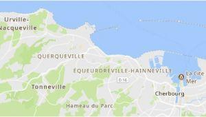 Cherbourg France Map Equeurdreville Hainneville 2019 Best Of Equeurdreville