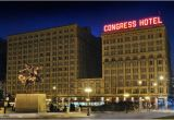 Chicago Michigan Avenue Hotels Map the Congress Plaza Hotel and Convention Center Chicago Il