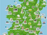 Cities In Ireland Map Map Of Ireland Ireland Trip to Ireland In 2019 Ireland Map