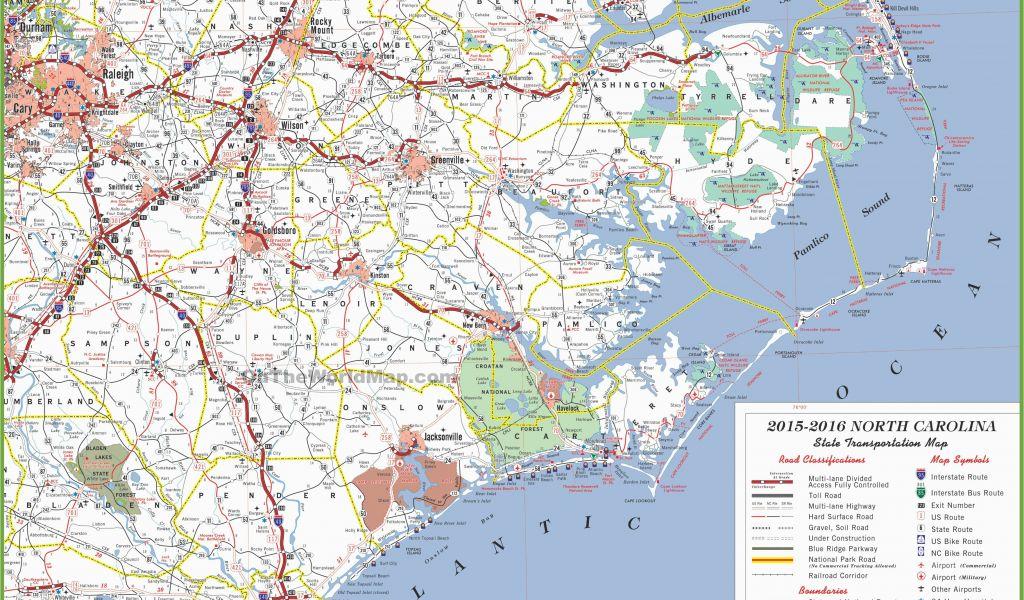 Cities In North Carolina Map North Carolina State Maps Usa Maps Of - North-carolina-map-us