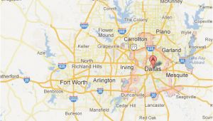 City Map Of Dallas Texas Dallas fort Worth Map tour Texas