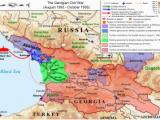 Civil War Sites In Georgia Map Georgian Civil War Wikipedia