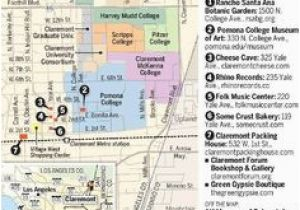 Claremont California Map where is Claremont California On Map ... on