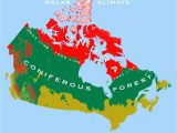 Climate Map Of Canada Canadian Arctic Tundra Wikipedia