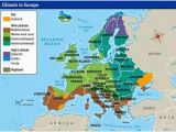 Climate Map Of Europe Europe S Climate Maps and Landscapes Netherlands Facts