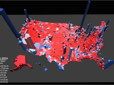 Clinton County Ohio Map Election Results In the Third Dimension Metrocosm