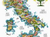 Coast Of Italy Map Italy Wines Antoine Corbineau 1 Map O Rama Italy Map Italian