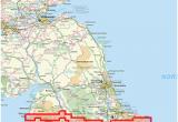 Coast to Coast Walk England Map Wainwright Coast to Coast Walk