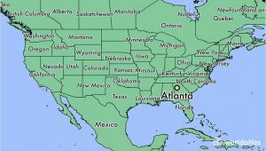 Coastal Georgia Map where is atlanta Ga atlanta Georgia Map Worldatlas Com
