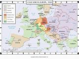 Cold War Europe Map Quiz 50 Systematic Cold War Europe Map Labeled