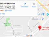 College Station Map Of Texas College Station Eye Doctors Tso College Station south