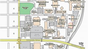 Colleges In Minnesota Map Campus Map St Cloud State University