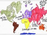 Color Coded Map Of Europe Help Your Child Review the Continents by Giving them A Color