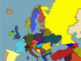 Color In Europe Map 53 Strict Map Europe No Names