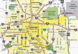 Colorado City and County Map Denver Metro Map Unique Denver County Map Beautiful City Map Denver