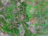 Colorado City Map with Counties Map Colorado County Map