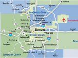 Colorado City Map with Counties Map Communities Metro Denver